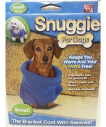 Snuggie for Dogs, Small, Blue - $5.75