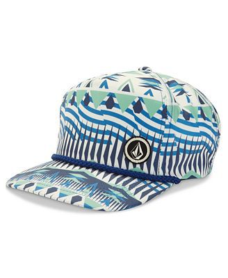 Primary image for MEN'S GUYS VOLCOM STONE CAREY GOLF ADJUSTABLE HAT CAP MULTICOLOR NEW $30