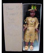 Knickerbocker Toy Indian Maiden Doll Open/Close Eyes + Box - $14.50
