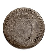1754 EC Poland 18 Grozy August III Coin (Very Good, VG Condition) KM #148.2 - $29.69