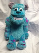 """Monsters University Talking Sulley Sully Plush Toy 12"""" Seated Disney Talks - $13.09"""