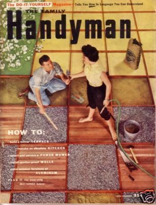 THE FAMILY HANDYMAN *** 1954 May Vintage Magazine