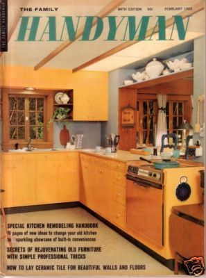 THE FAMILY HANDYMAN *** 1965 Feb Vintage Magazine