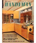 THE FAMILY HANDYMAN *** 1965 Feb Vintage Magazine - $5.00