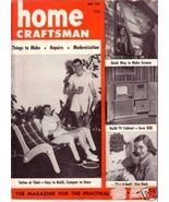HOME CRAFTSMAN *** 1952 Jun Vintage Magazine - $5.00