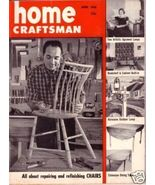 HOME CRAFTSMAN *** 1956 Apr Vintage Magazine - $5.00
