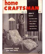 HOME CRAFTSMAN *** 1957 Apr Vintage Magazine - $5.00