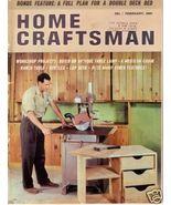 HOME CRAFTSMAN *** 1961 Feb Vintage Magazine - $5.00