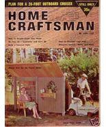 HOME CRAFTSMAN *** 1962 Jun Vintage Magazine - $5.00
