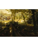 "Tom Lovell Berdan's "" Second Day At Gettysburg"" #445/1500 - $79.19"
