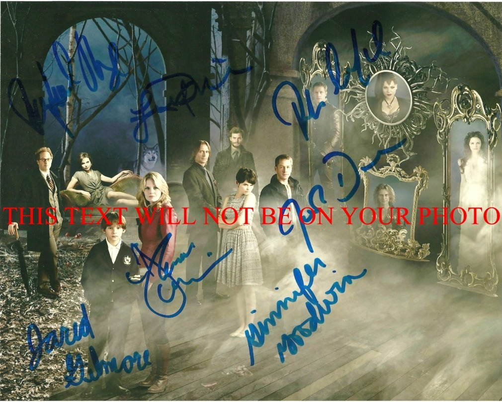 Primary image for ONCE UPON A TIME SIGNED AUTOGRAPHED CAST 8x10 PHOTO LANA PARRILLA ROBERT CARLYLE