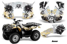 ATV Decal Graphics Kit Quad Wrap For Honda FourTrax Recon 2005-2018 LUNA YELLOW - $168.25