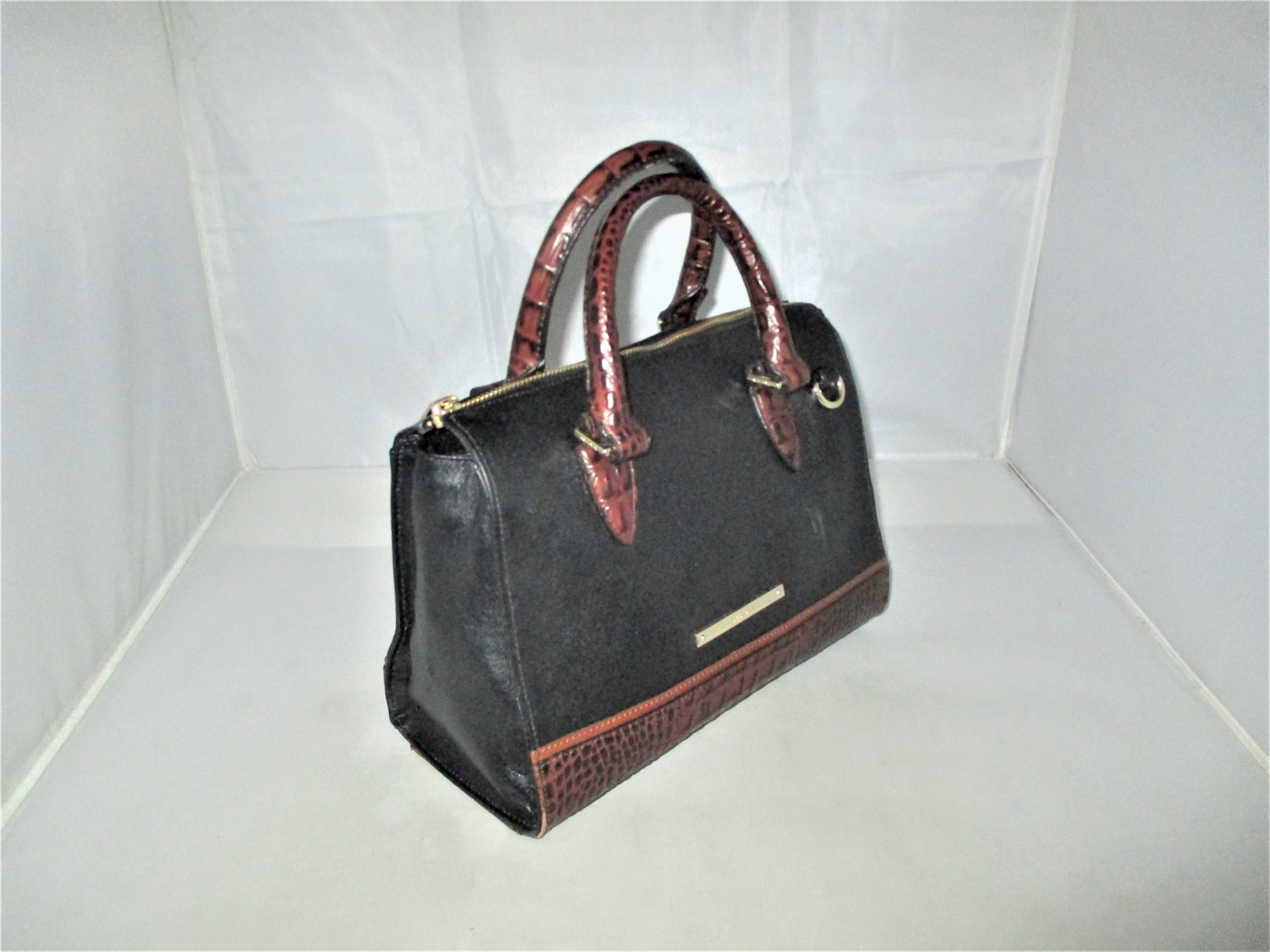 Brahmin Tuscan Tri-Texture Anywhere Convertible Satchel, Shoulder Bag,Tote $255 image 3