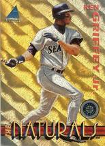 1994 pinnacle ken griffey jr  seattle mariners the naturals baseball card - $2.50