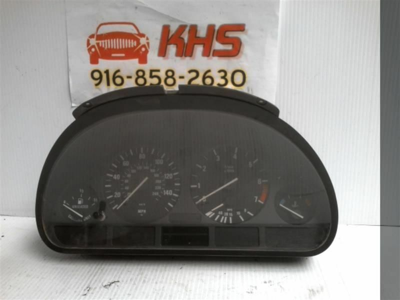 Primary image for Speedometer Cluster MPH US Market With Navigation Fits 01-03 BMW 525i 181848