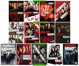 Criminal Minds Complete Series Season 1-13 DVD 1 2 3 4 5 6 7 8 9 10 11 1... - $126.00