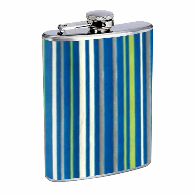 Primary image for 1960s Or 70s Mod Wallpaper 104 Flask 8oz Stainless Steel D-281