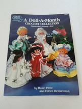 American School of Needlework A Doll A Month Crochet Collection Volume O... - $9.69