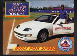 1991 New York Mets Astros Official Scorebook Program Unscored Vince Coleman - $24.99