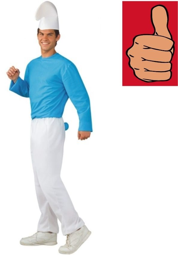 Smurfs Smurf Costume Adult Size Xl And 50 Similar Items