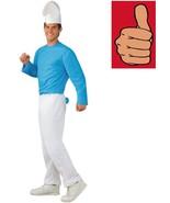 Smurfs - Smurf Costume - Adult - Size XL - 44-46 Jacket Size - $27.56