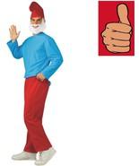Smurfs - Papa Smurf Costume - Adult - Size Standard - Up to 44 Jacket Size - $27.56