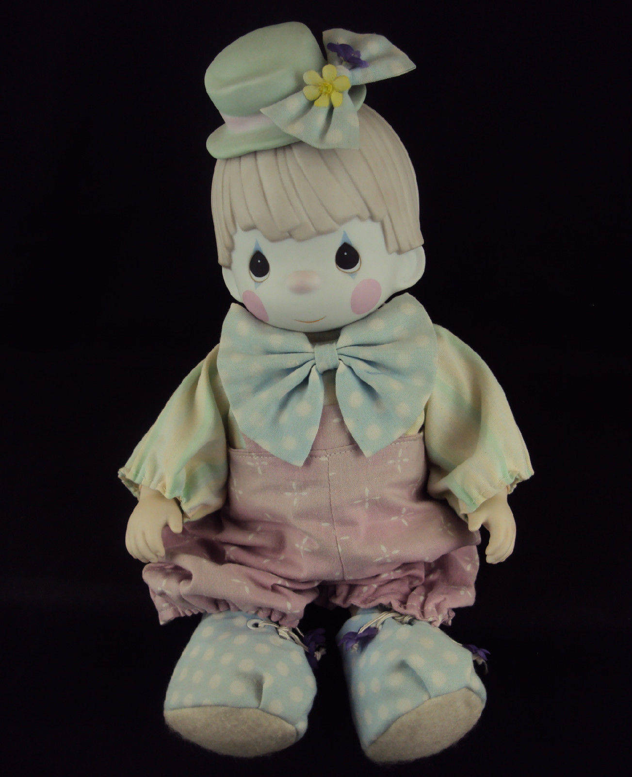 "Primary image for Precious Moments Doll 100455, ""Bong Bong"" The Boy Clown"