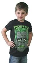 Iron Fist Noir Petit Garçon Grincheux Frank Zombie Monster Enfants T-Shirt