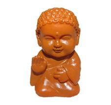 Pocket Buddha Brown Blessed Buddhism Mini Figure Figurine Toy - $4.99