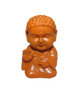 Pocket Buddha Brown Blessed Buddhism Mini Figure Figurine Toy - $4.99