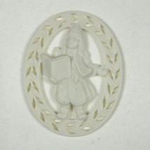 Lenox Ornament Carolers Silhouette Oval Cream Color Dickens Inspired NO ... - $24.74