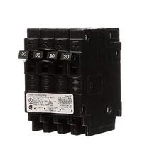 Siemens Q22030CT 30-Amp Double Pole Two 20-Amp Single Pole Circuit Breaker - $24.84