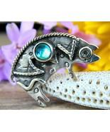 Vintage deborah roberts sterling silver pig brooch pin animal figural thumbtall