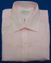 Van Heusen Pale Pink Stripe Regular Fit Long Sleeve Dress Shirt - 15 - 3... - $15.95