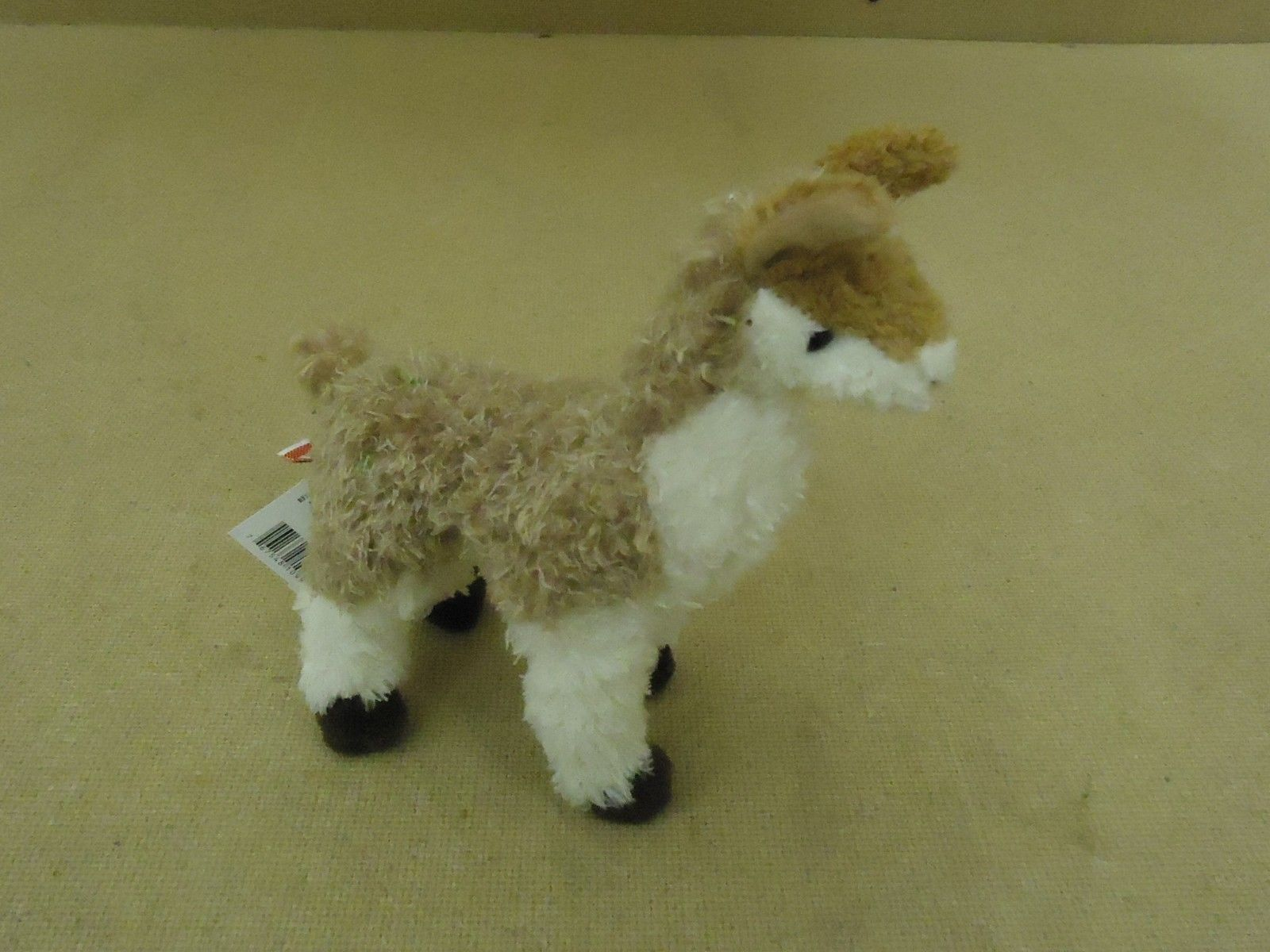 Douglas Llama 7in Cuddly Brown/White Ages 18m & Up