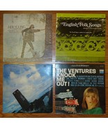 Record Albums Qty 4 Neil Young English Folk The... - $23.28