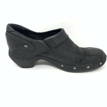 Merrell Womens Leather Comfort Shoes, Size 8, Black, Sliver Stud Accent - $17.56