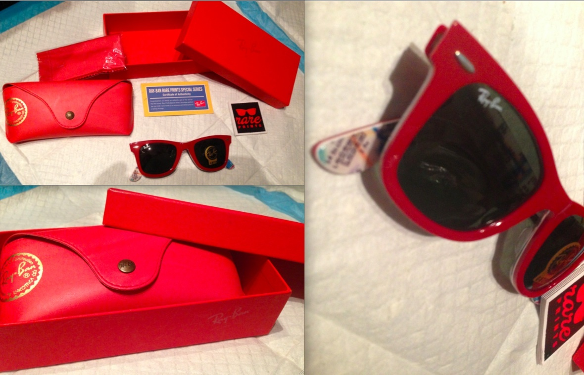 dcbfc4df24 Ray Ban Rare Print Red New York Subway and 50 similar items. 1