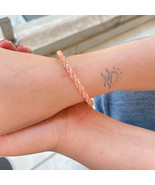 23 CT Sunstone Bracelet Genuine Sunstone Bead Bracelet - $49.50