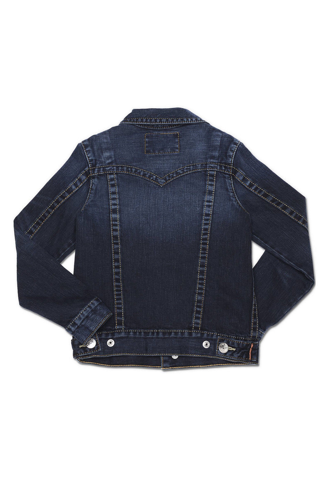 New Boys Girls NWT S True Religion Designer Jean Jacket Dark Jimmy Western $178