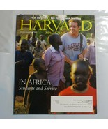 Harvard Magazine November 2009 In Africa Students and Service Ayn Rand S2 - $39.99