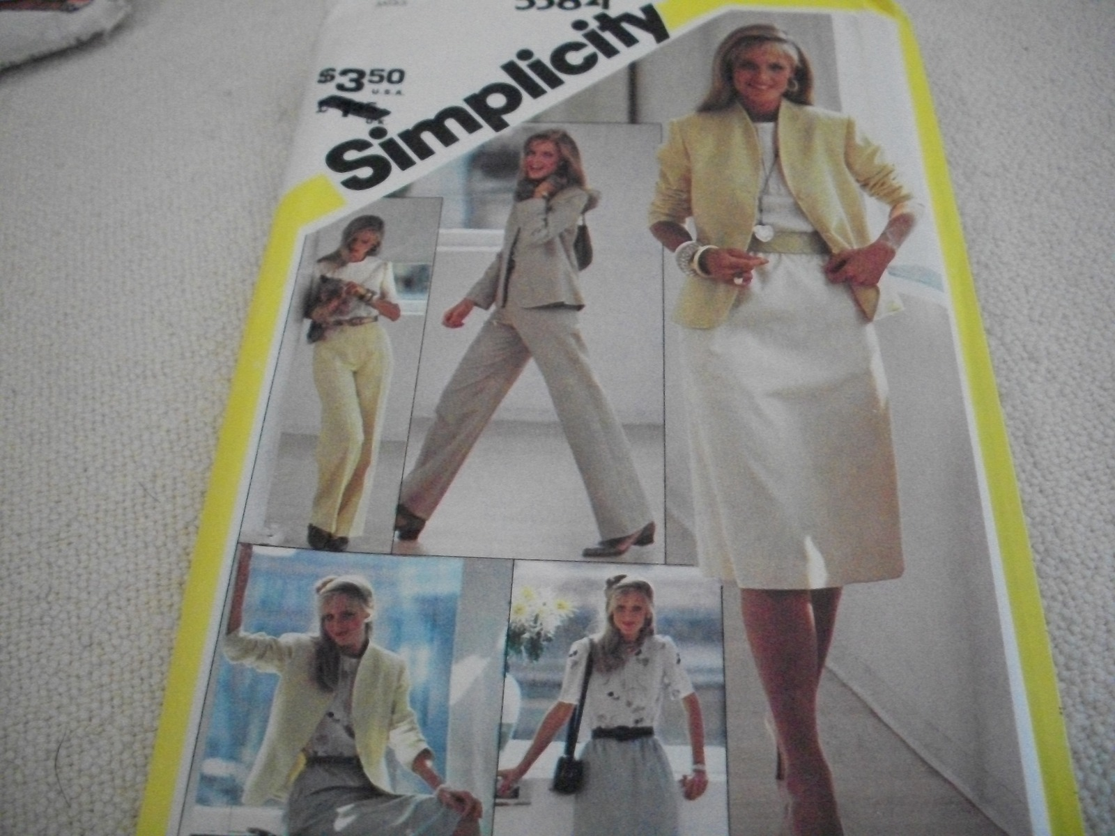 Primary image for Misses' Skirt, Pants, Blouse & Jacket Pattern Simplicity 5384
