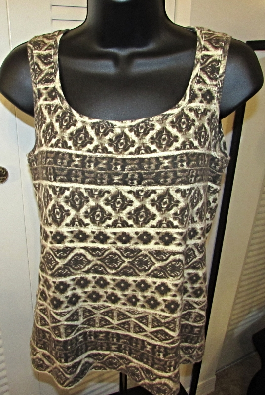 Chico's Southwest Print Tank Top Size: 1