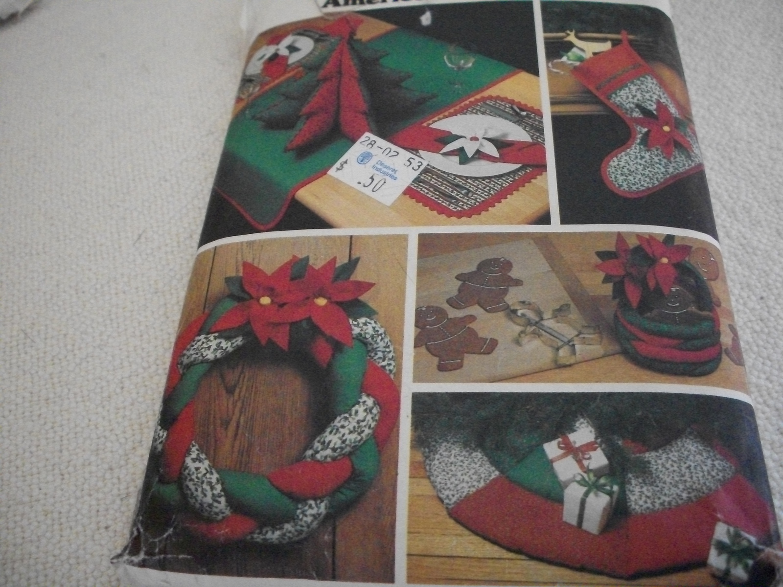 Primary image for Vintage Christmas Kitchen Accessories Pattern Butterick 4012