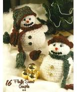 Y355 Crochet PATTERN ONLY Fluffy & Frosty Snow ... - $9.45