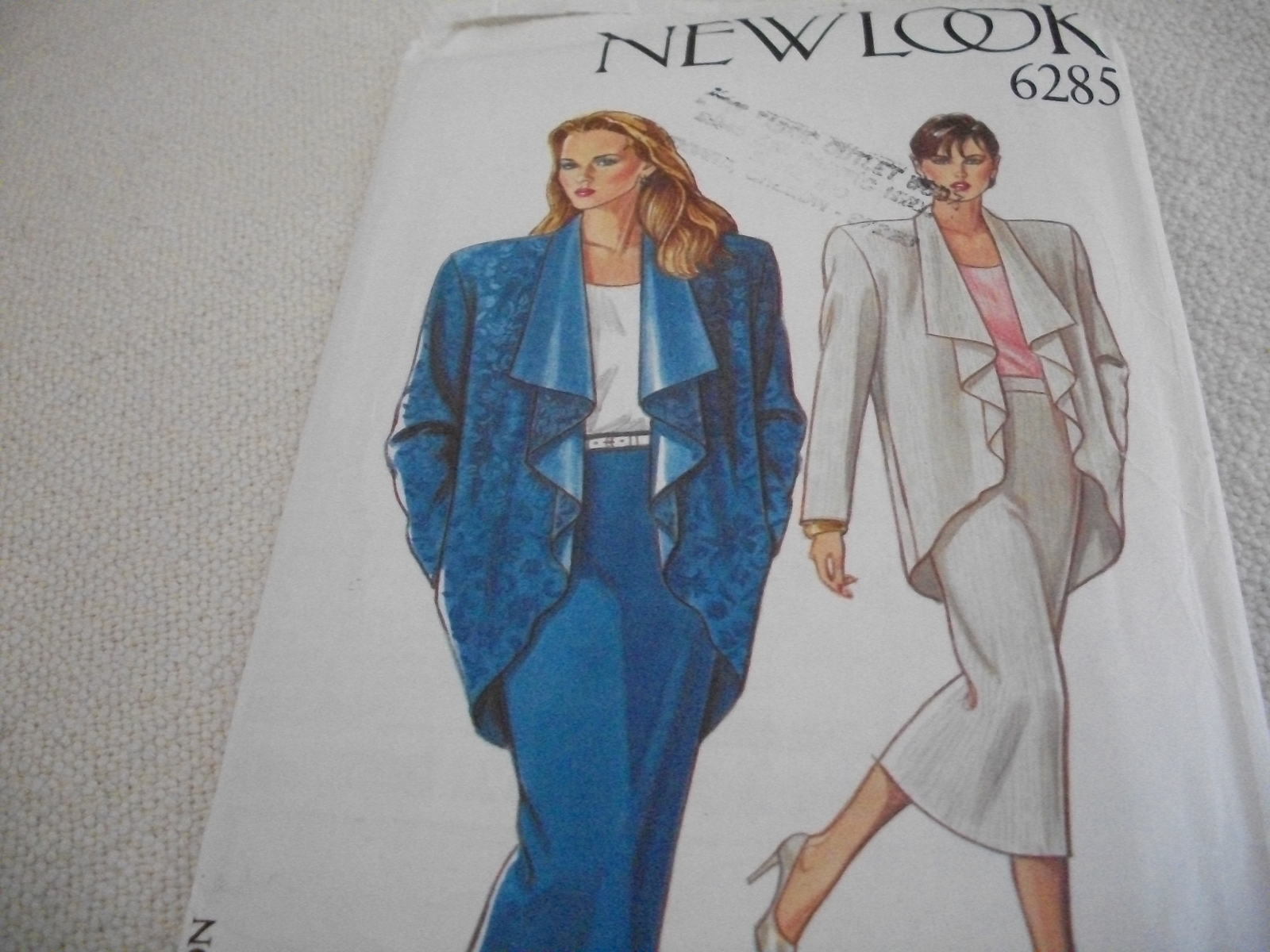 Primary image for Misses' Skirt & Jacket Pattern New Look Simplicity 6285