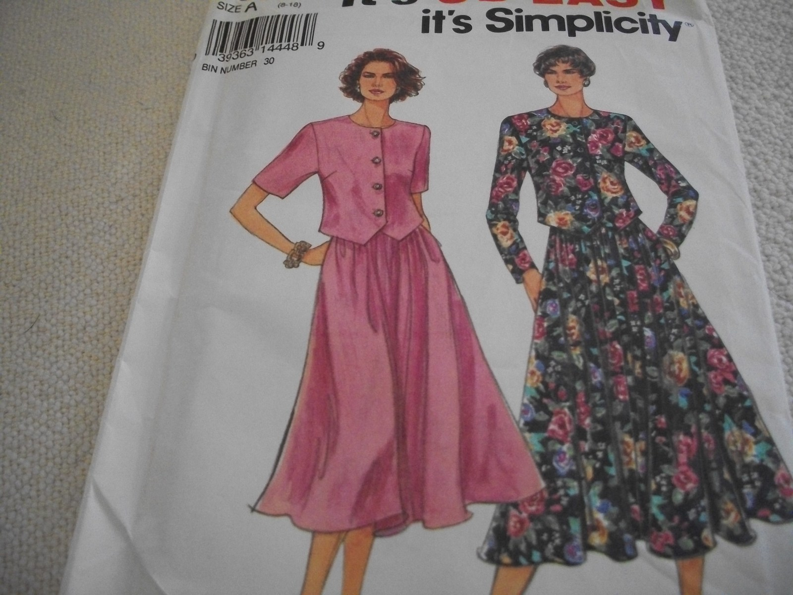 Primary image for Misses' Skirt & Top Pattern Simplicity 8585