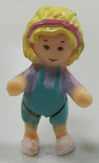 1994 Original Vintage Polly Pocket Dolls Home on the Go - Polly