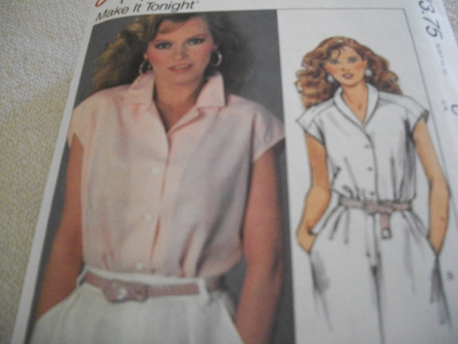 Primary image for Misses' V-Neck Top Pattern McCall's 9504
