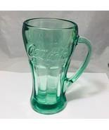 Coca cola 12 Oz. Green  Libbey glass - $4.94